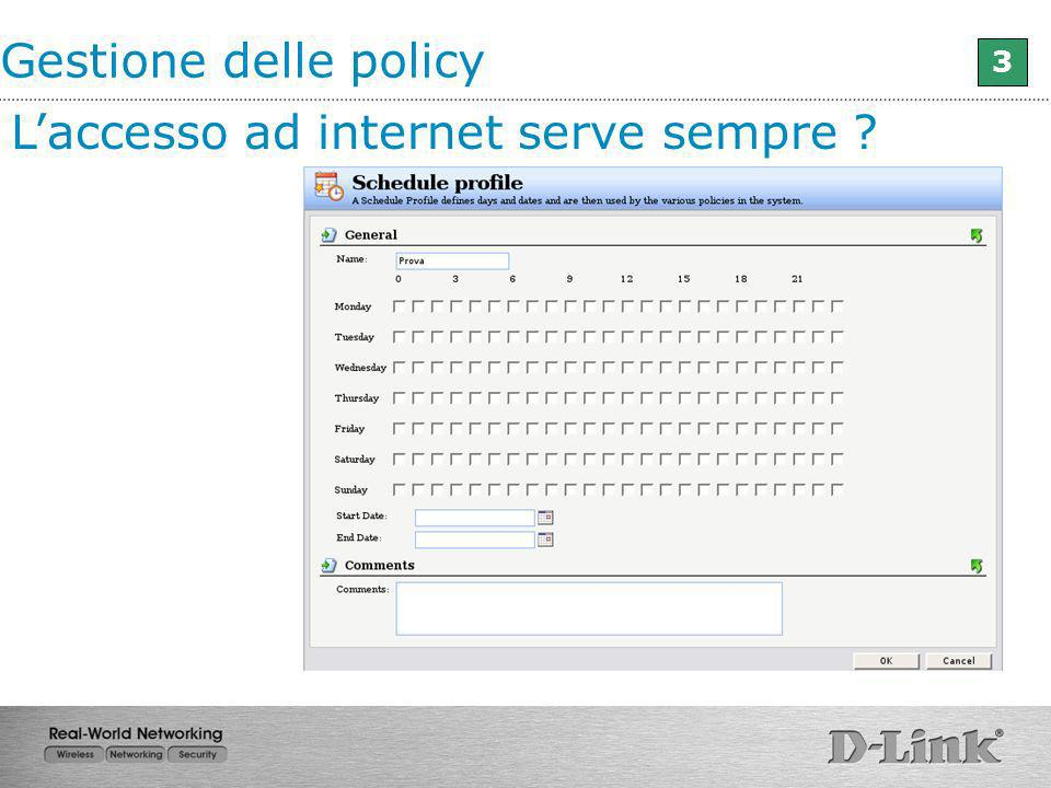 L'accesso ad internet serve sempre