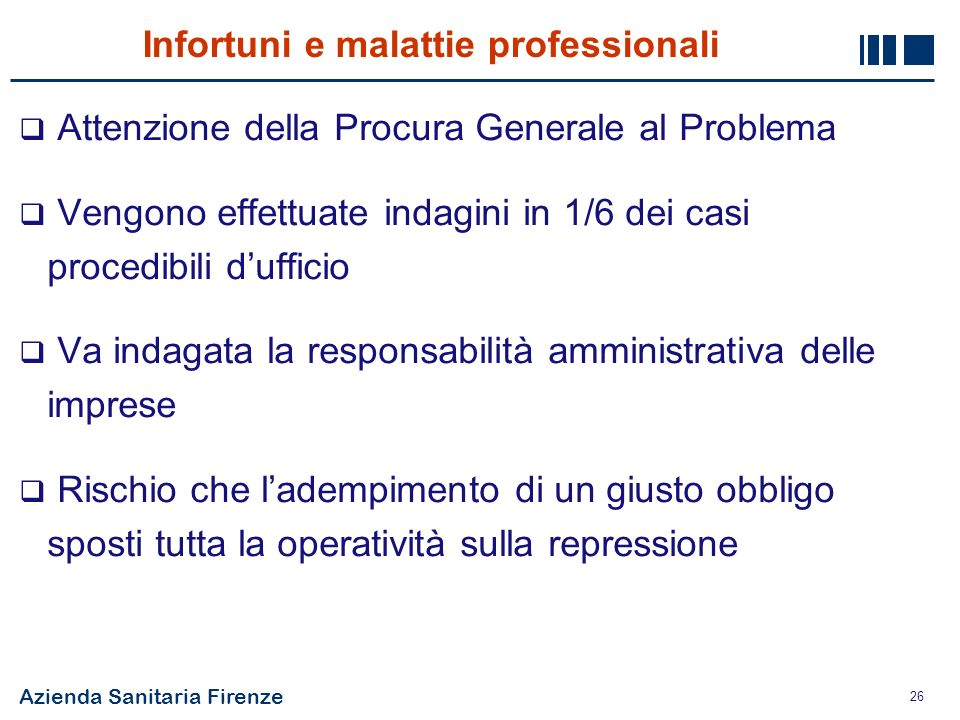 Infortuni e malattie professionali