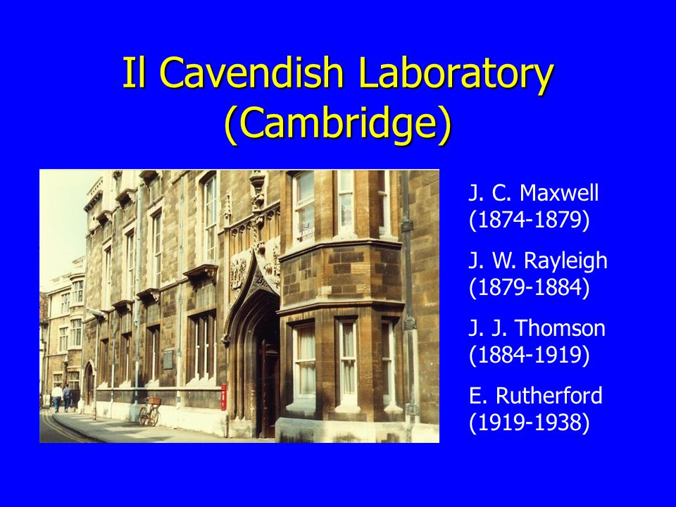 Il Cavendish Laboratory (Cambridge)