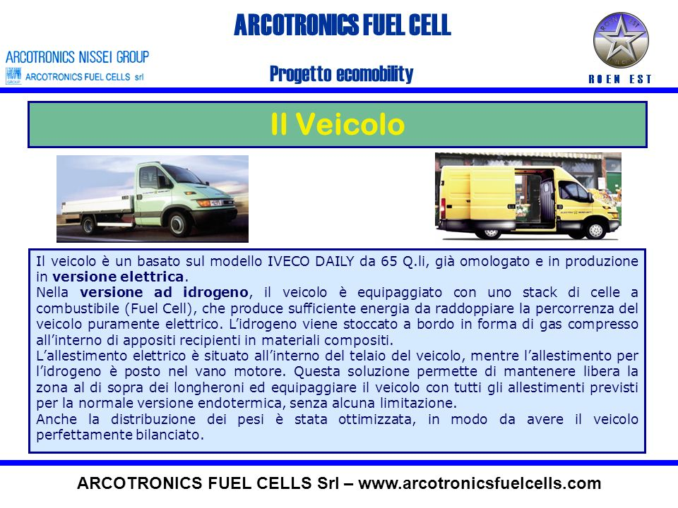 ARCOTRONICS FUEL CELLS Srl –