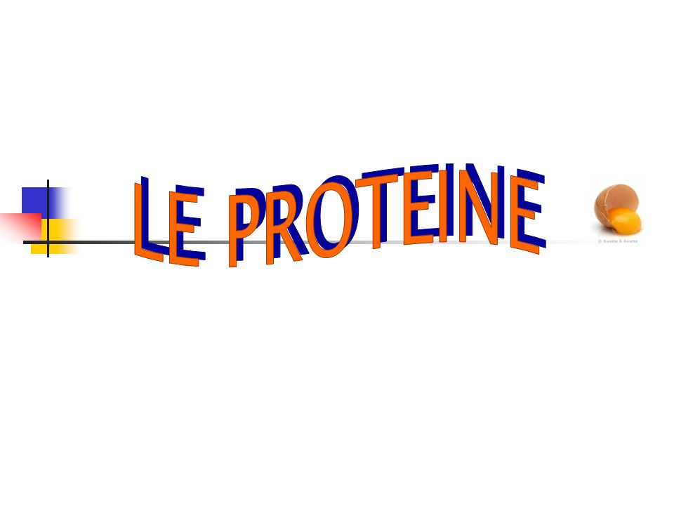 LE PROTEINE