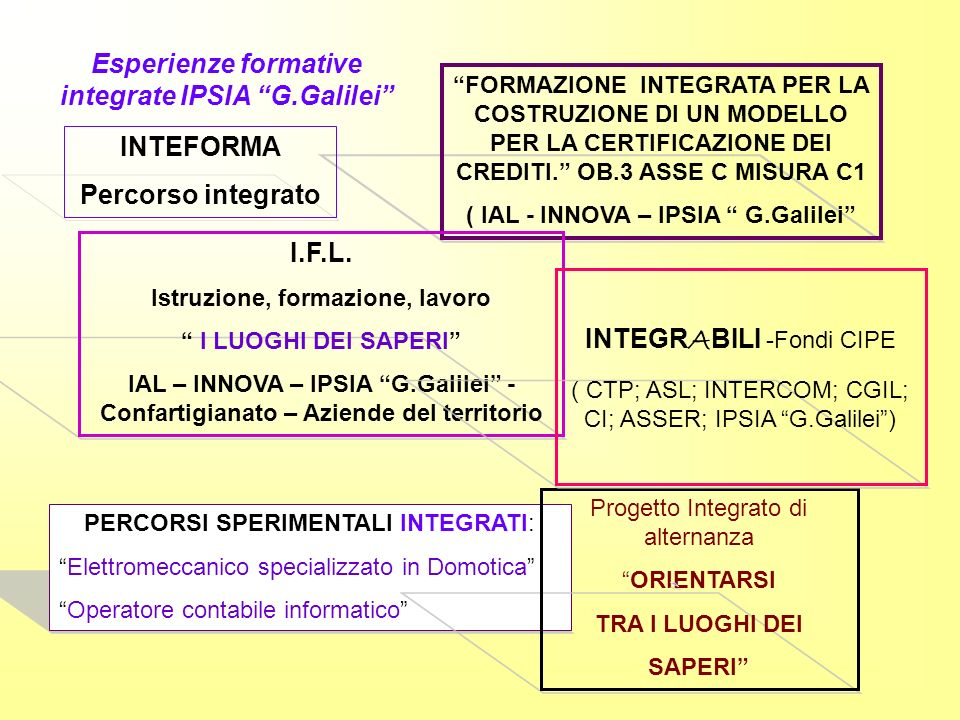 Esperienze formative integrate IPSIA G.Galilei