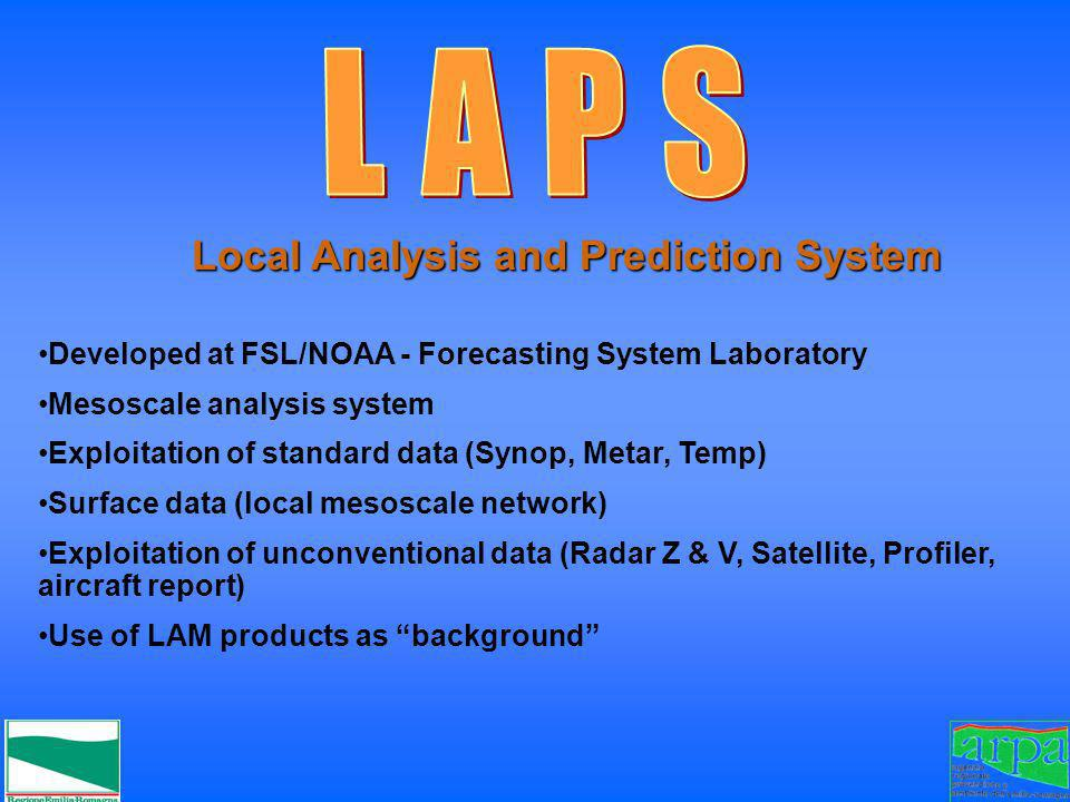 Local Analysis and Prediction System