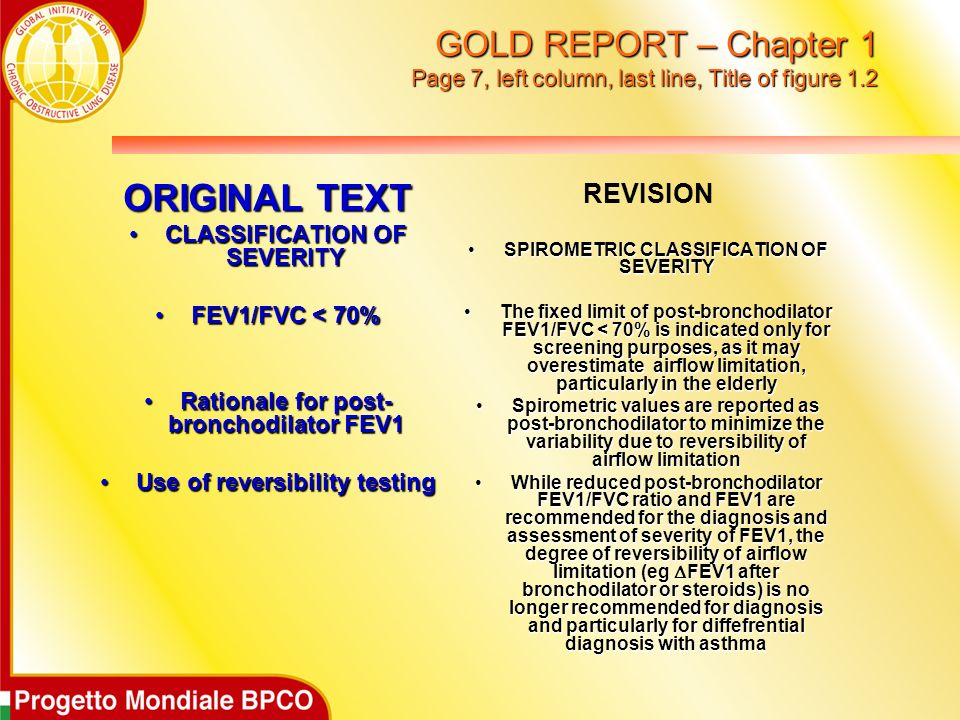 GOLD REPORT – Chapter 1 Page 7, left column, last line, Title of figure 1.2
