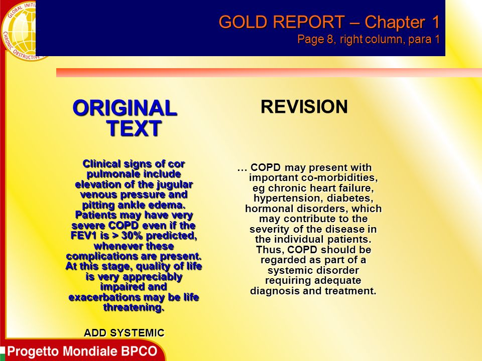 GOLD REPORT – Chapter 1 Page 8, right column, para 1