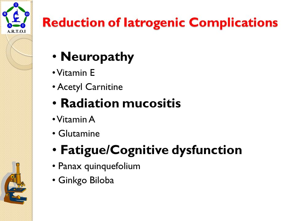 Reduction of Iatrogenic Complications