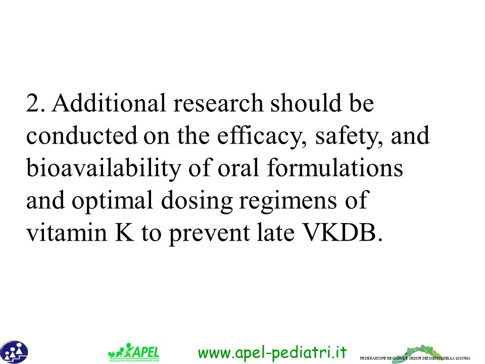 2. Additional research should be conducted on the efficacy, safety, and bioavailability of oral formulations