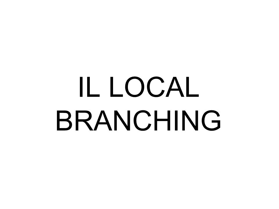 IL LOCAL BRANCHING