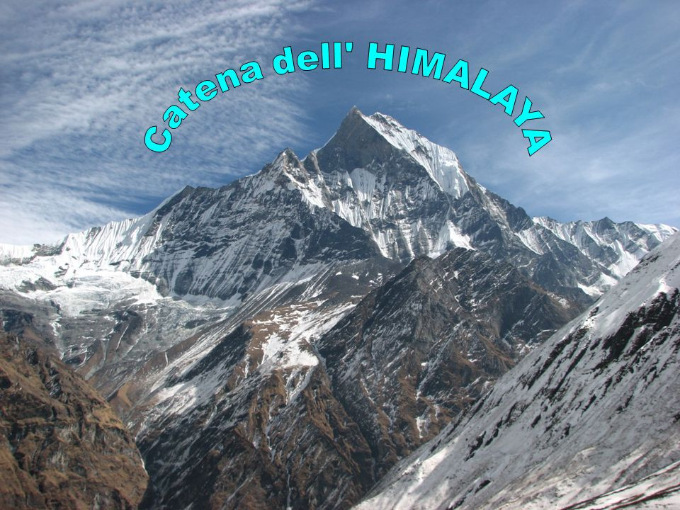 Catena dell HIMALAYA