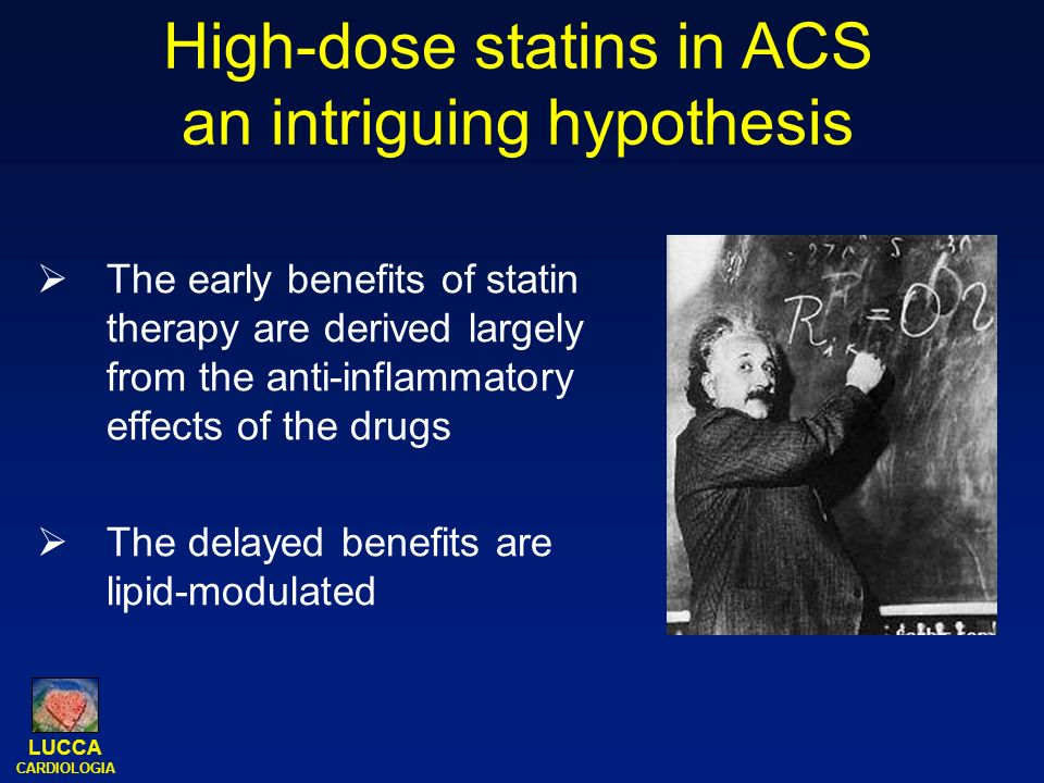 High-dose statins in ACS an intriguing hypothesis