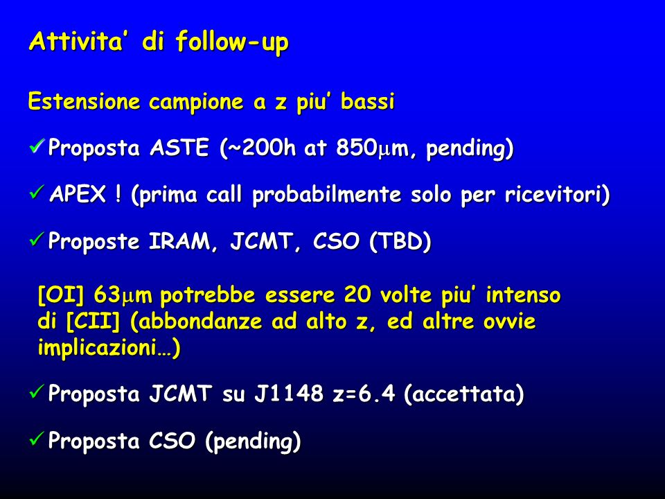 Attivita' di follow-up