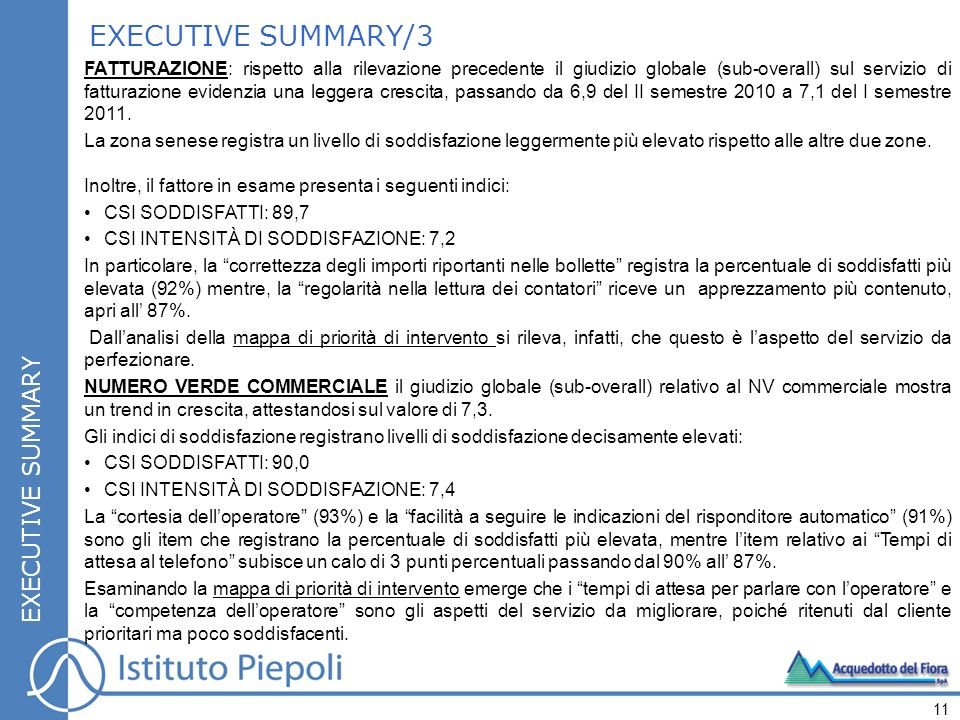 EXECUTIVE SUMMARY/3 EXECUTIVE SUMMARY
