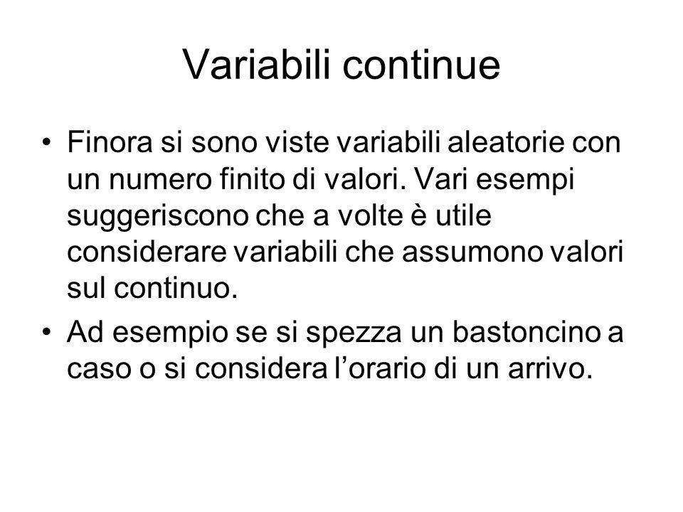 Variabili continue