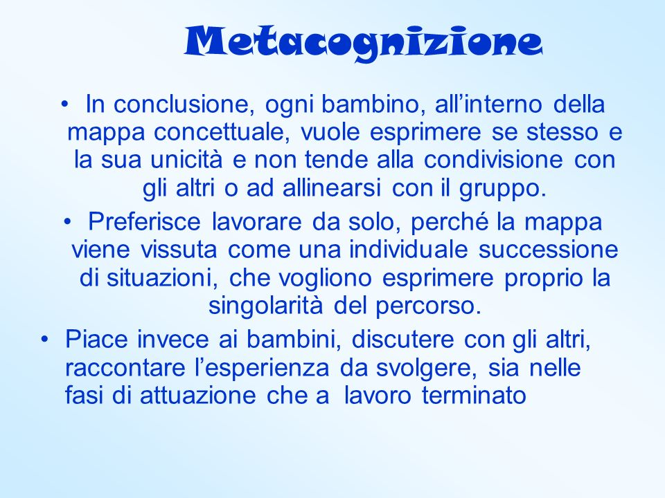 Metacognizione