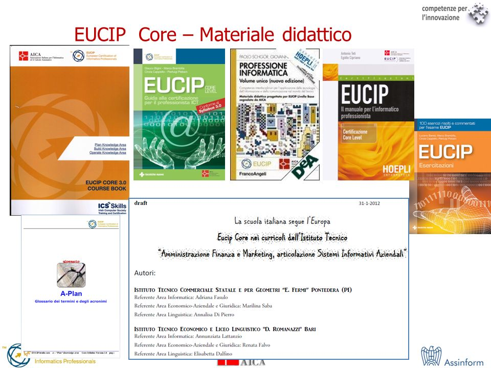 EUCIP Core – Materiale didattico