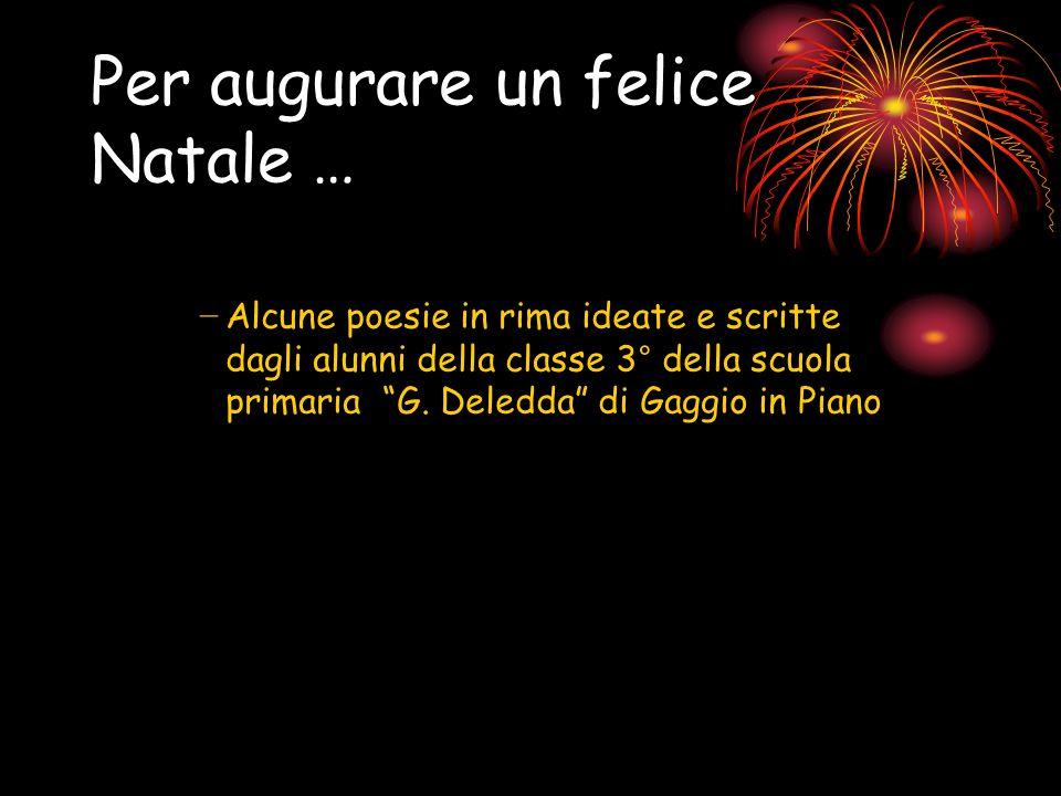 Poesie Di Natale In Rima.Il Natale E Poesia Ppt Video Online Scaricare