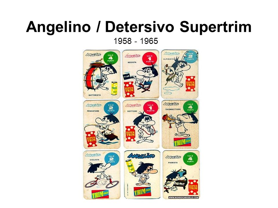 Angelino / Detersivo Supertrim