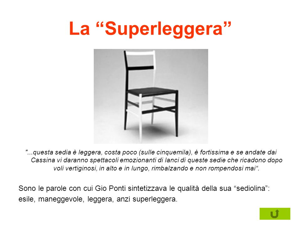 La Superleggera