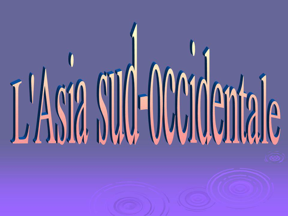 L Asia sud-occidentale