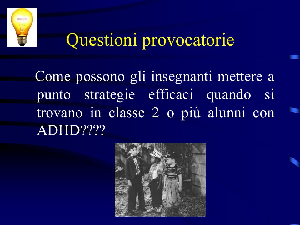 Questioni provocatorie