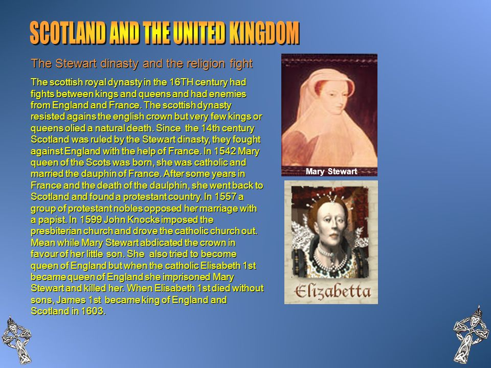 SCOTLAND AND THE UNITED KINGDOM