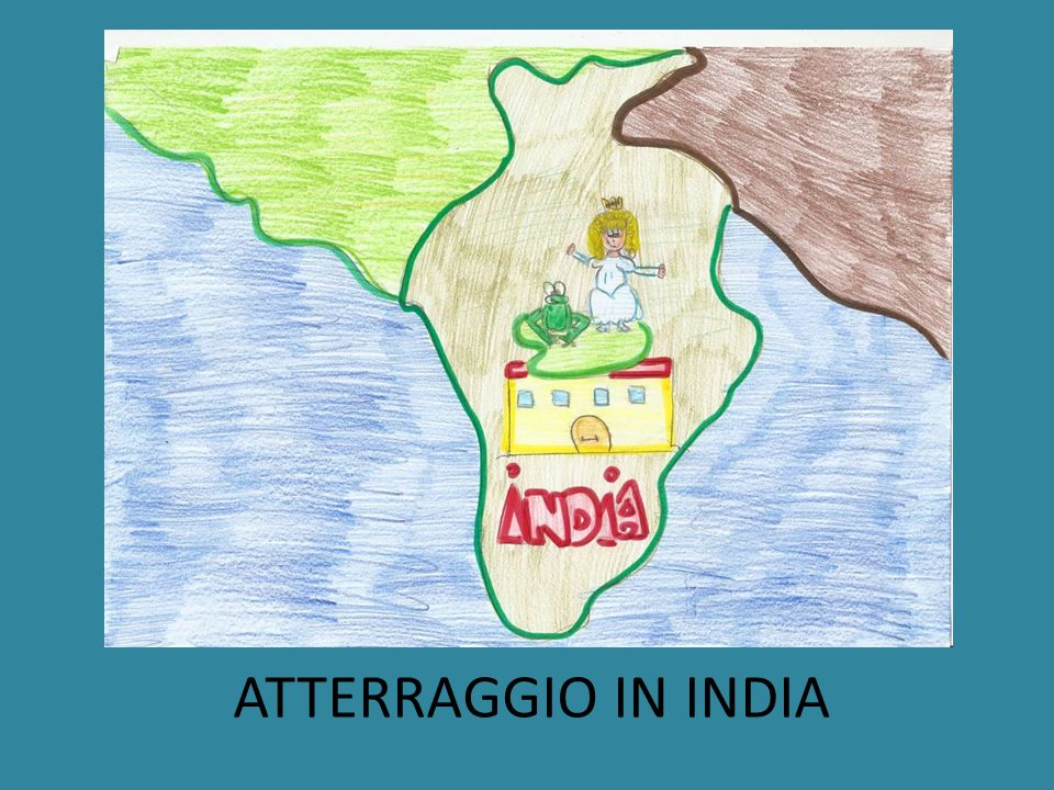 ATTERRAGGIO IN INDIA