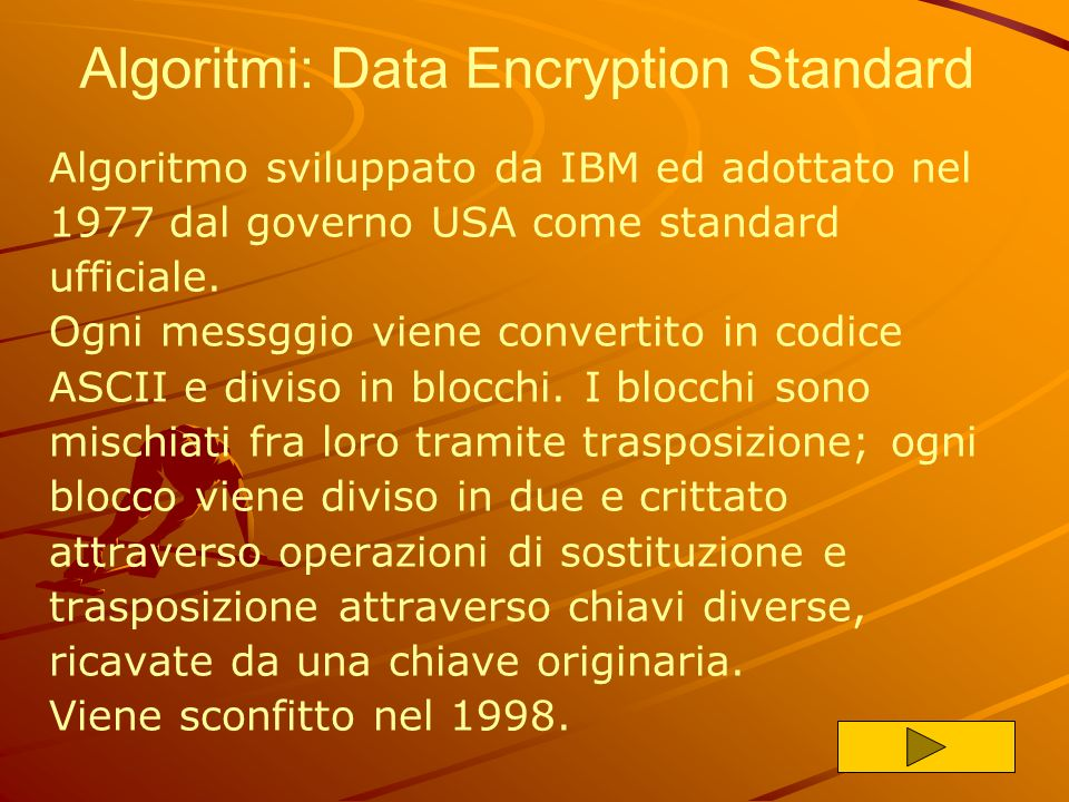 Algoritmi: Data Encryption Standard
