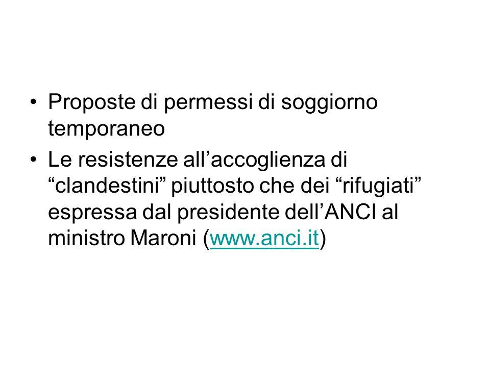 """Il """"modello mediterraneo di immigrazione"""" nel contesto italiano ..."""