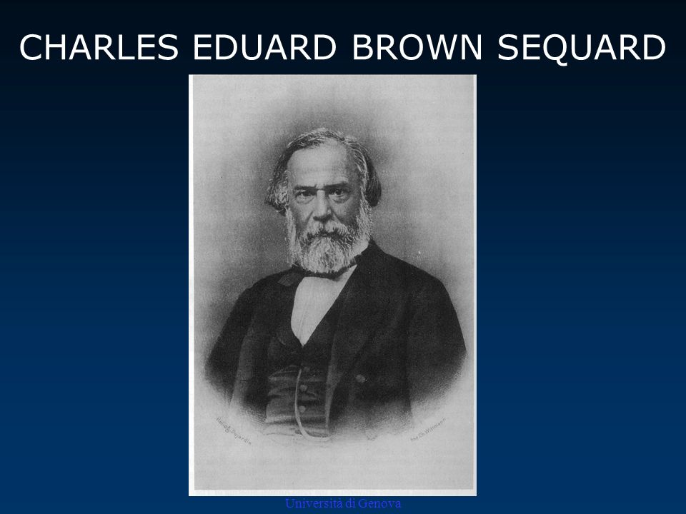 CHARLES EDUARD BROWN SEQUARD