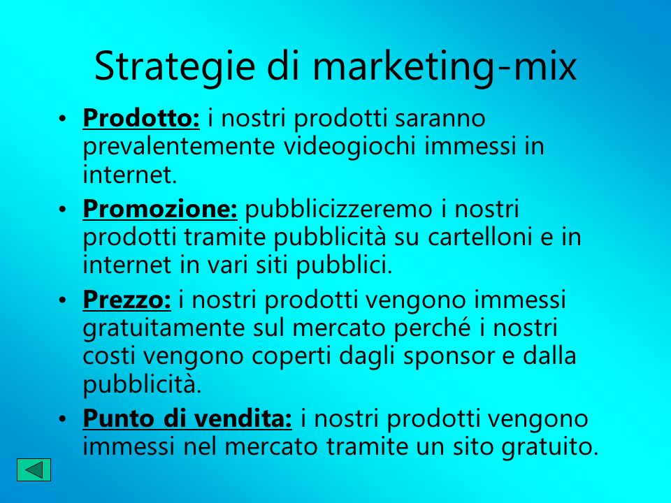 Strategie di marketing-mix