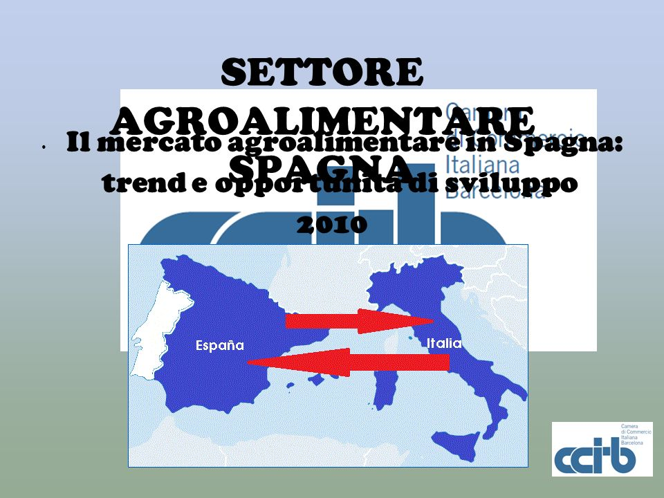 SETTORE AGROALIMENTARE SPAGNA