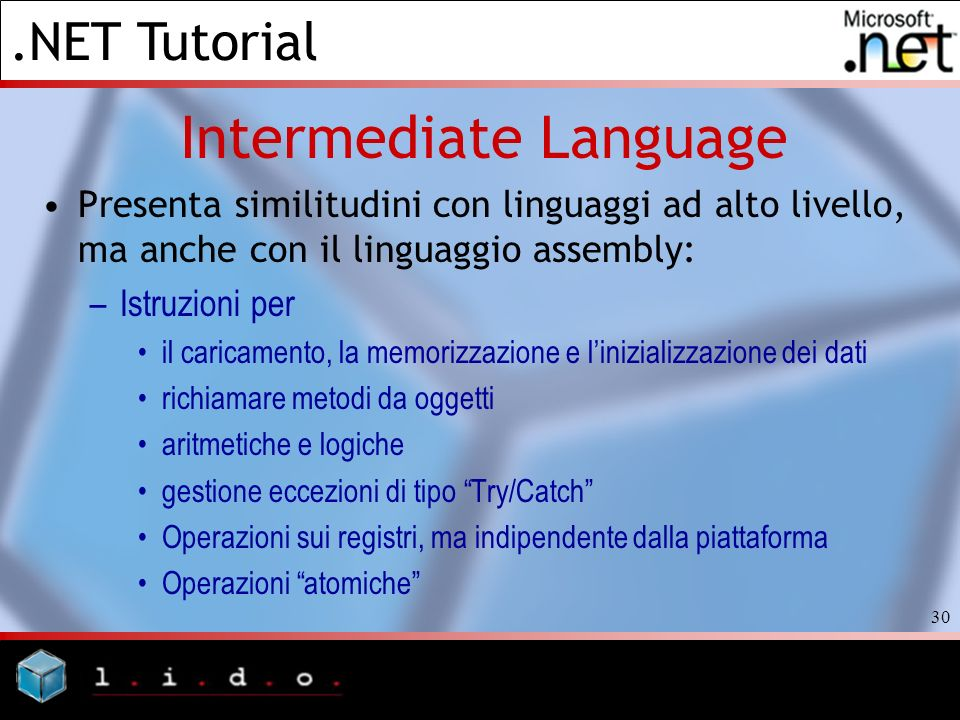 Intermediate Language