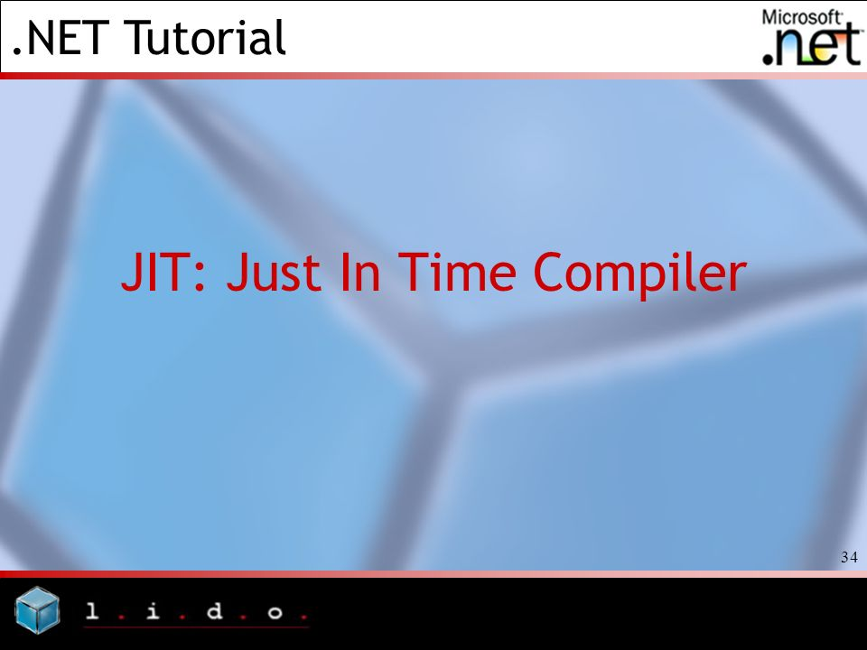JIT: Just In Time Compiler