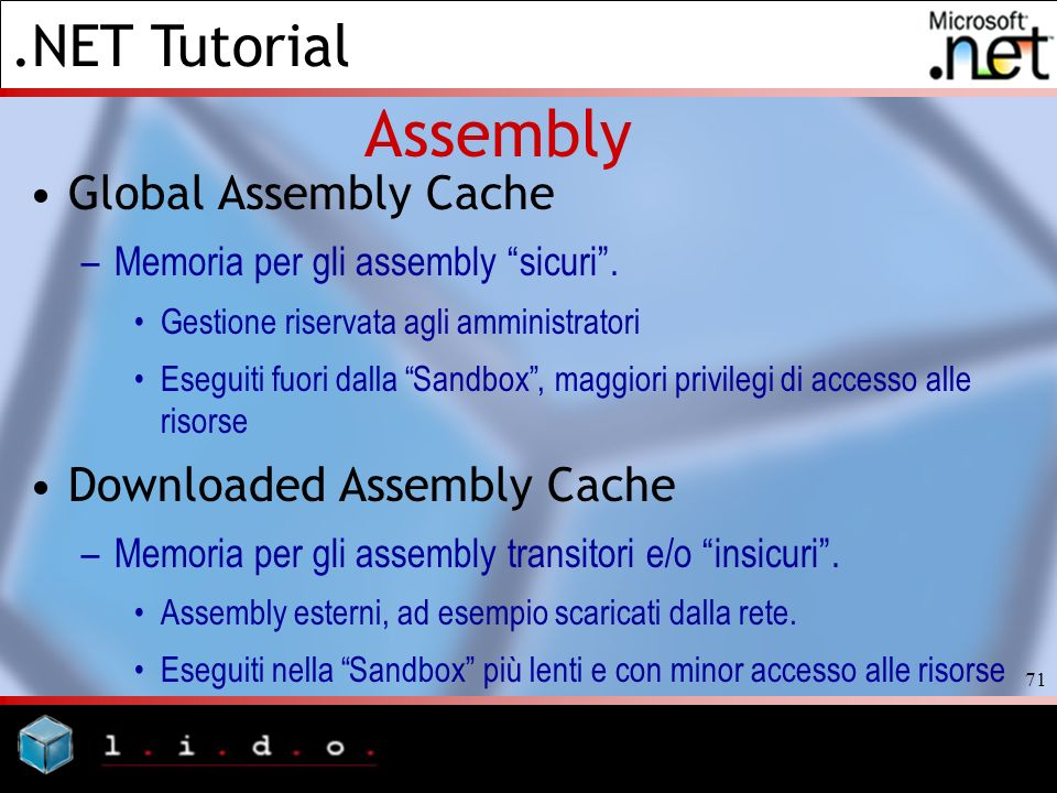 Assembly Global Assembly Cache Downloaded Assembly Cache