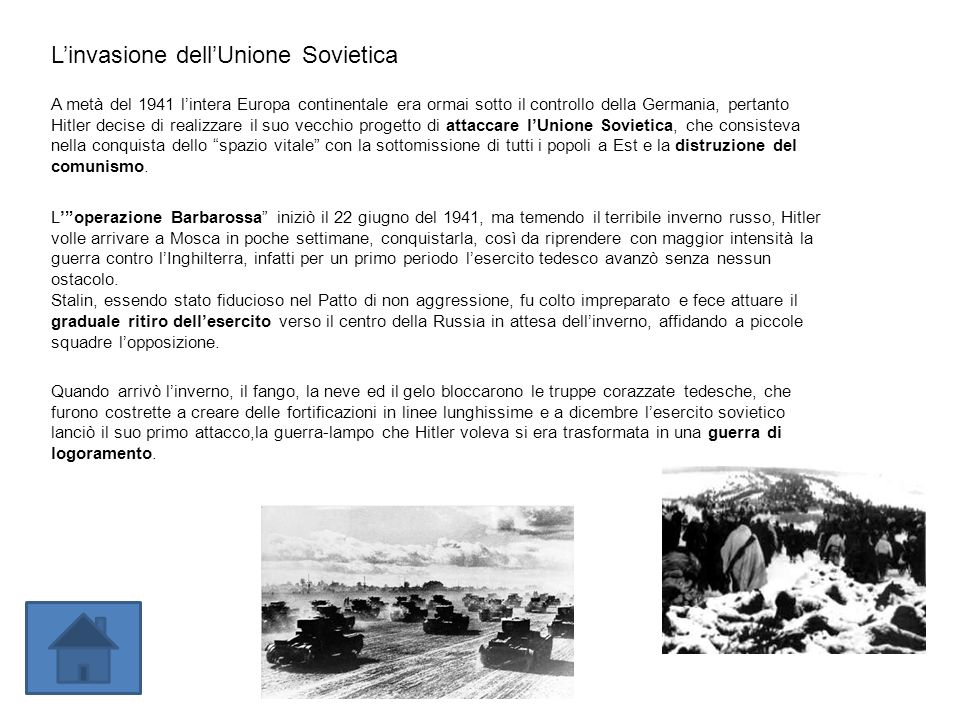 L'invasione dell'Unione Sovietica