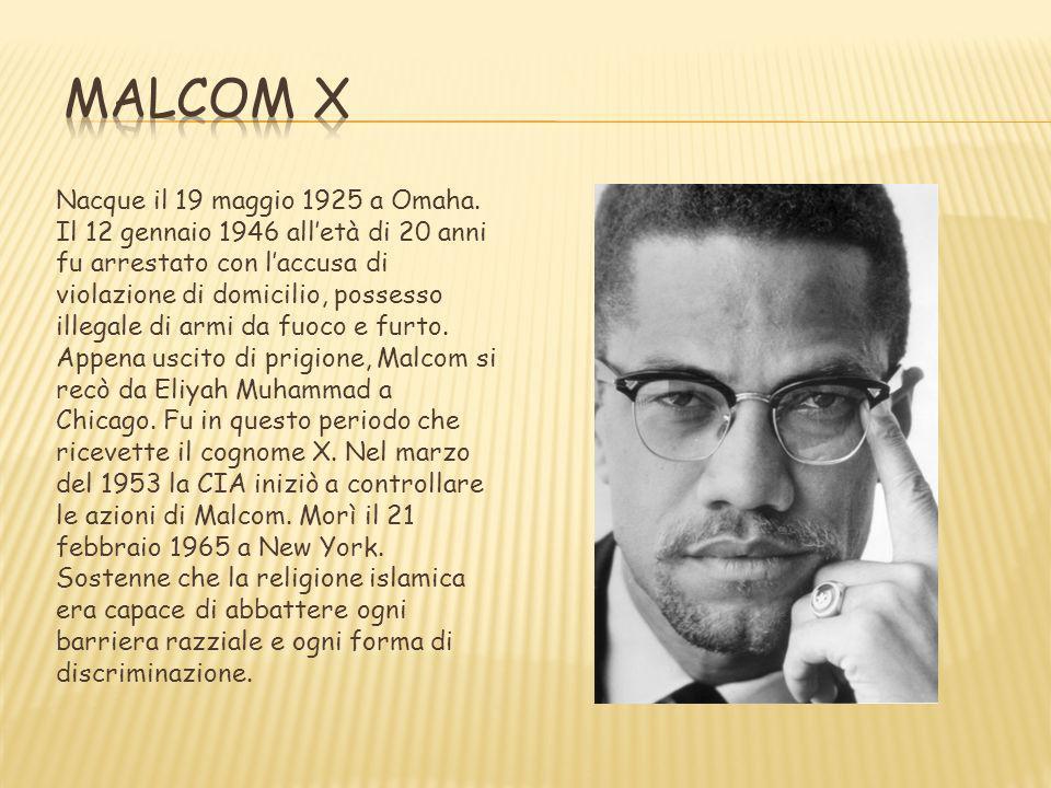 Malcolm X Frasi Famose.I 6 Uomini Padroni Della Legalita E Della Non Violenza Ppt Video Online Scaricare