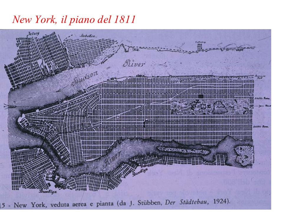 New York, il piano del 1811