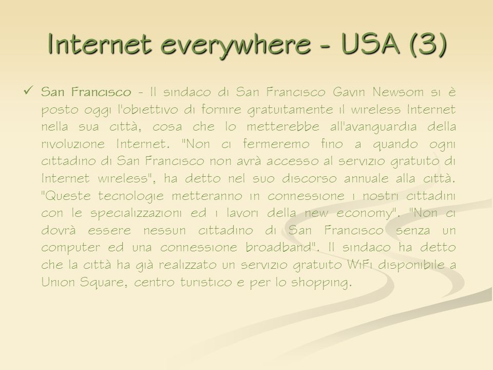 Internet everywhere - USA (3)