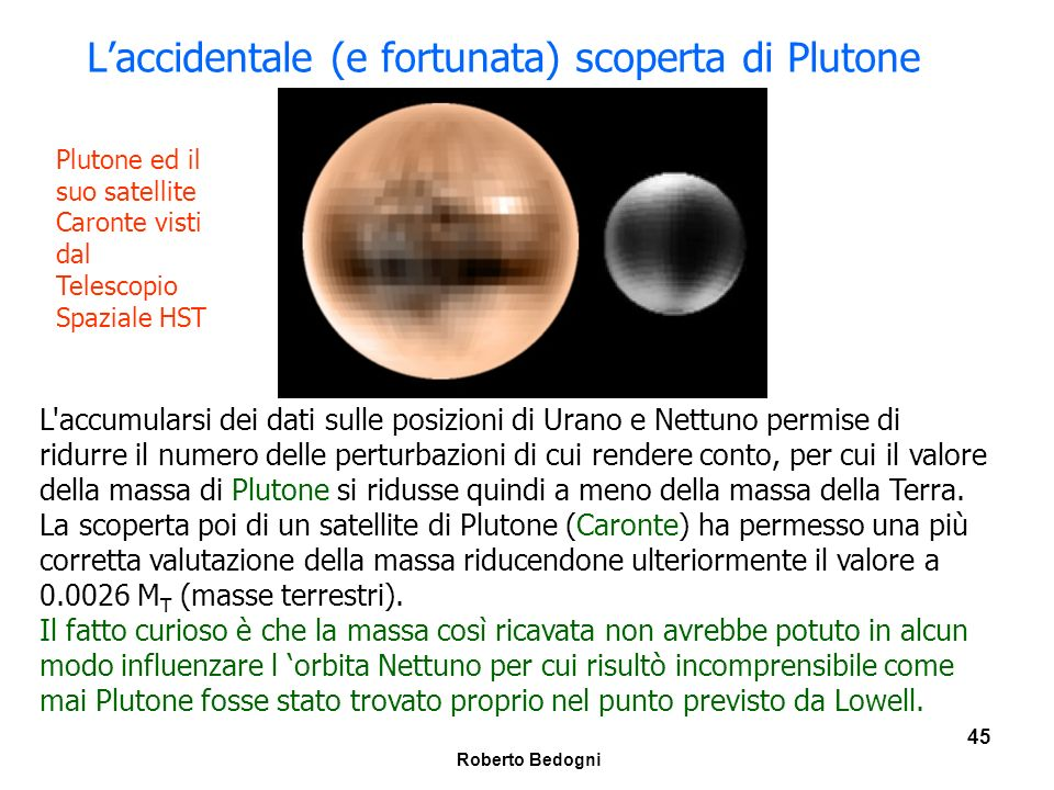 L'accidentale (e fortunata) scoperta di Plutone
