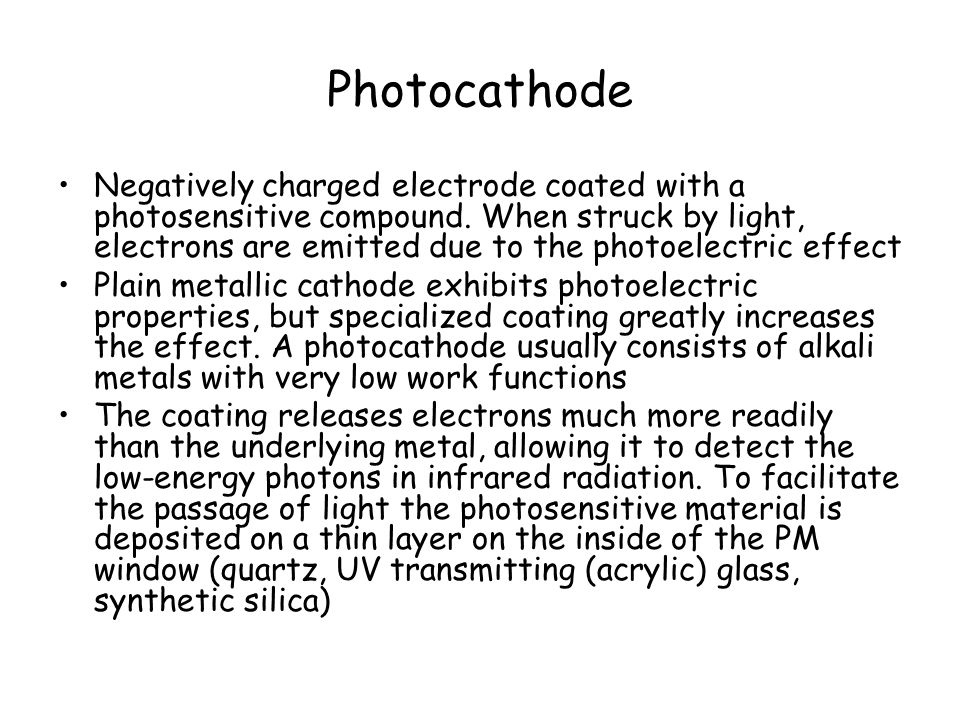 Photocathode