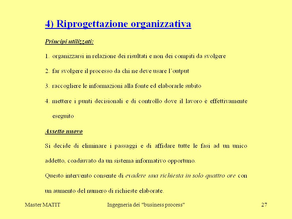 Ingegneria dei business process