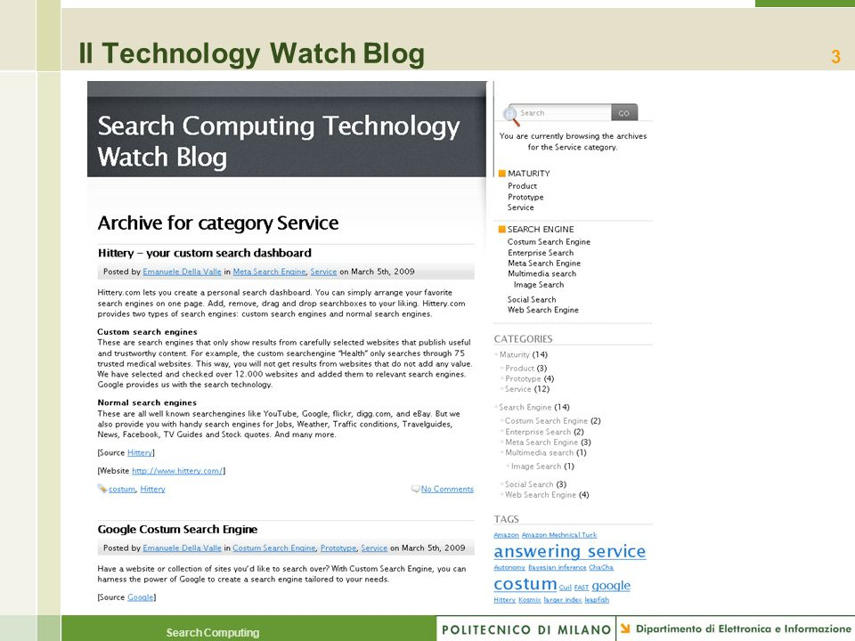 Il Technology Watch Blog