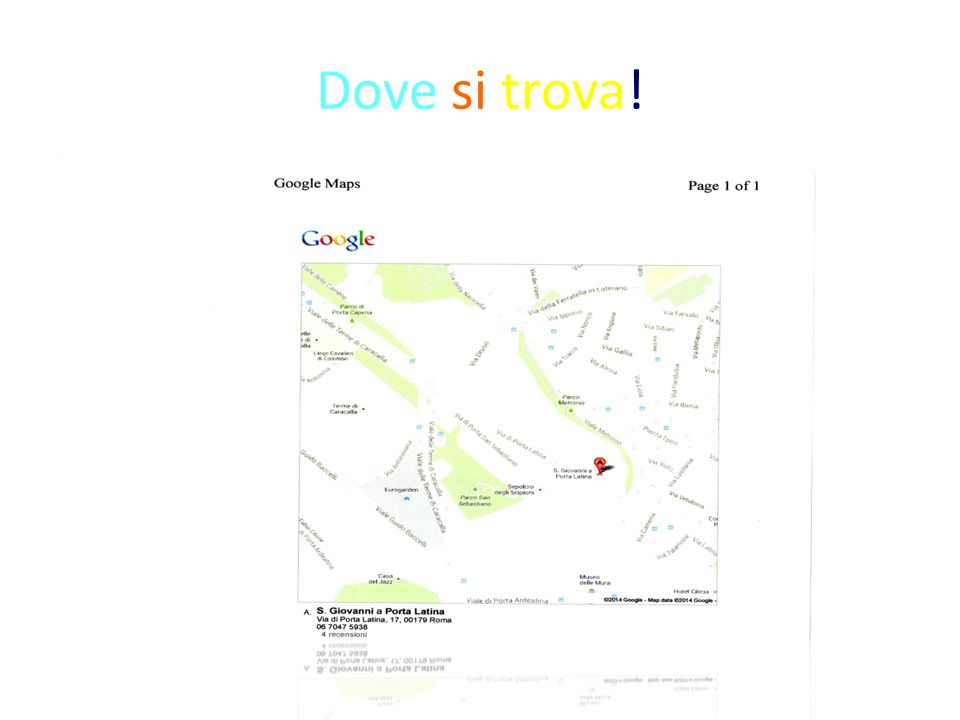 San giovanni a porta latina ppt video online scaricare for Arredo ingross 3 dove si trova