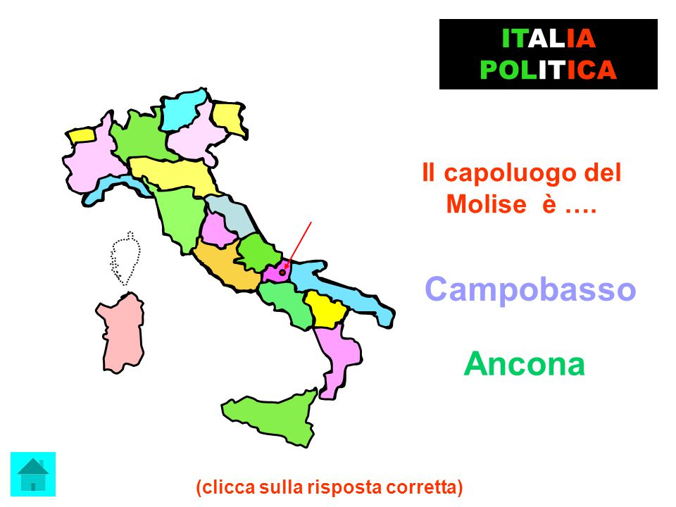 Cartina Politica Italia Con Capoluoghi Di Regione.Geografia Italia Politica Progetto Realizzato Dalla Ppt Video Online Scaricare