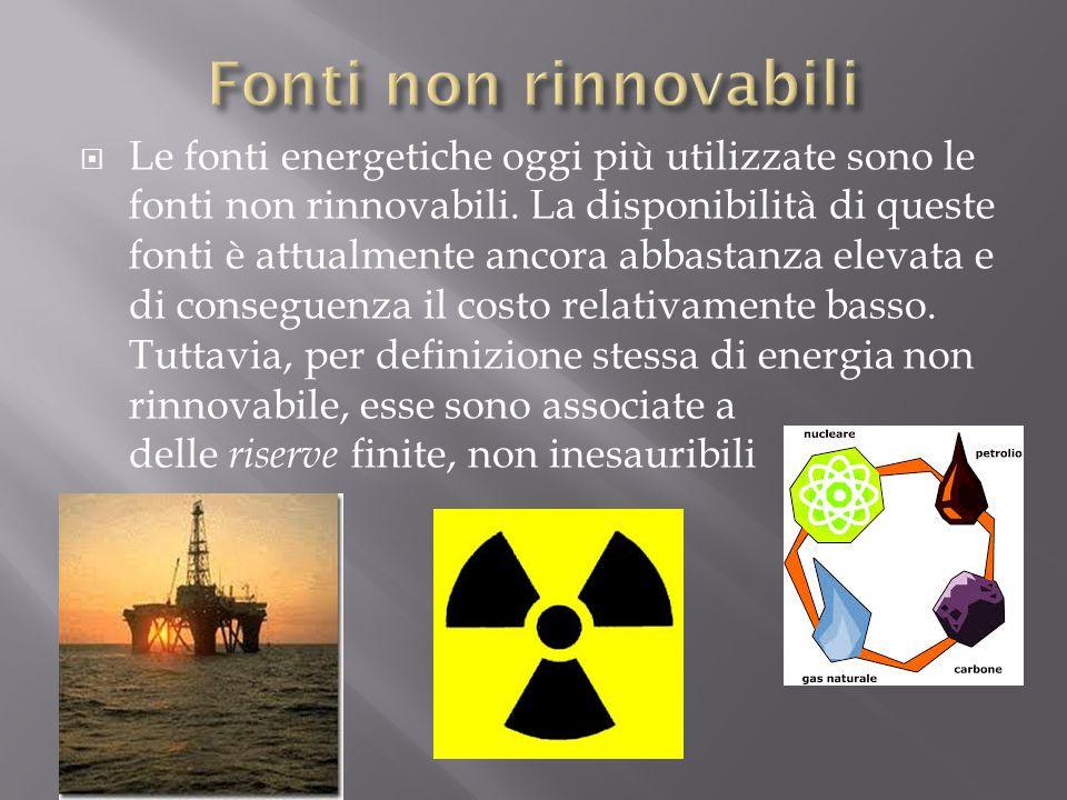 Fonti Di Energia Fonti Energetiche O Di Energia Sono Le Sorgenti