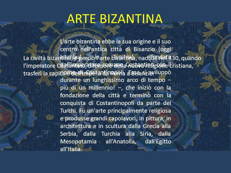 Arte bizantina l 39 arte bizantina ebbe la sua origine e il for Citta della siria che da nome a un pino