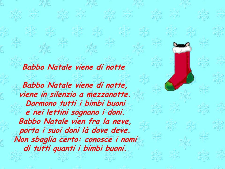 Babbo Natale Questanno Verra Filastrocca.Poesie Su Babbo Natale