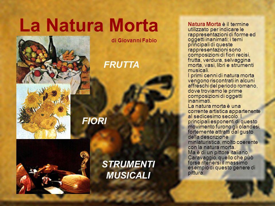 La Natura Morta Frutta Fiori Strumenti Musicali Ppt Scaricare