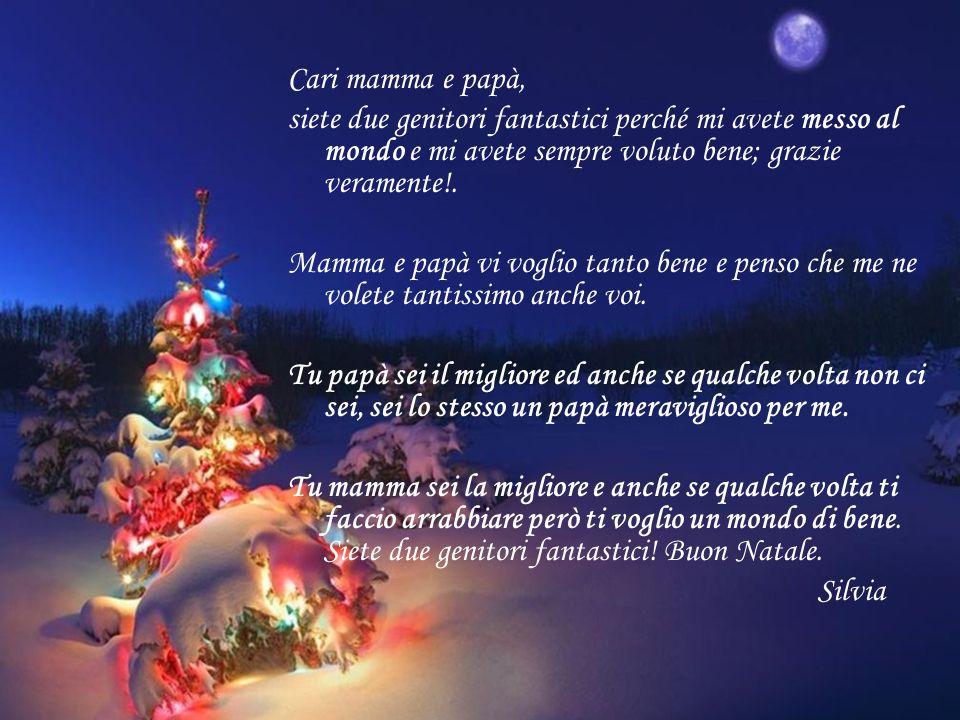 Regali Di Natale Per Mamma E Papa.Auguri Di Buon Natale Mamma