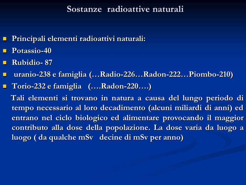 Rb, un isotopo radioattivo del rubidio, che.